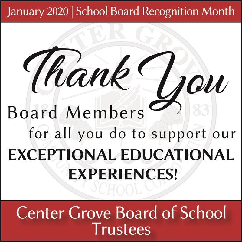 National School Board Recognition Month