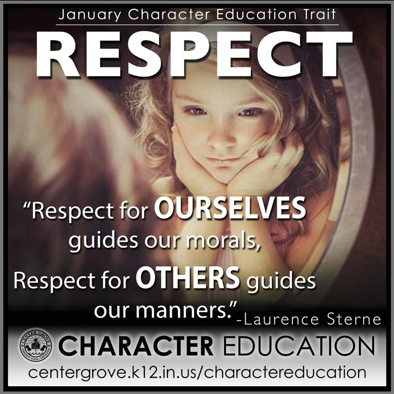 Center Grove Character Education-January