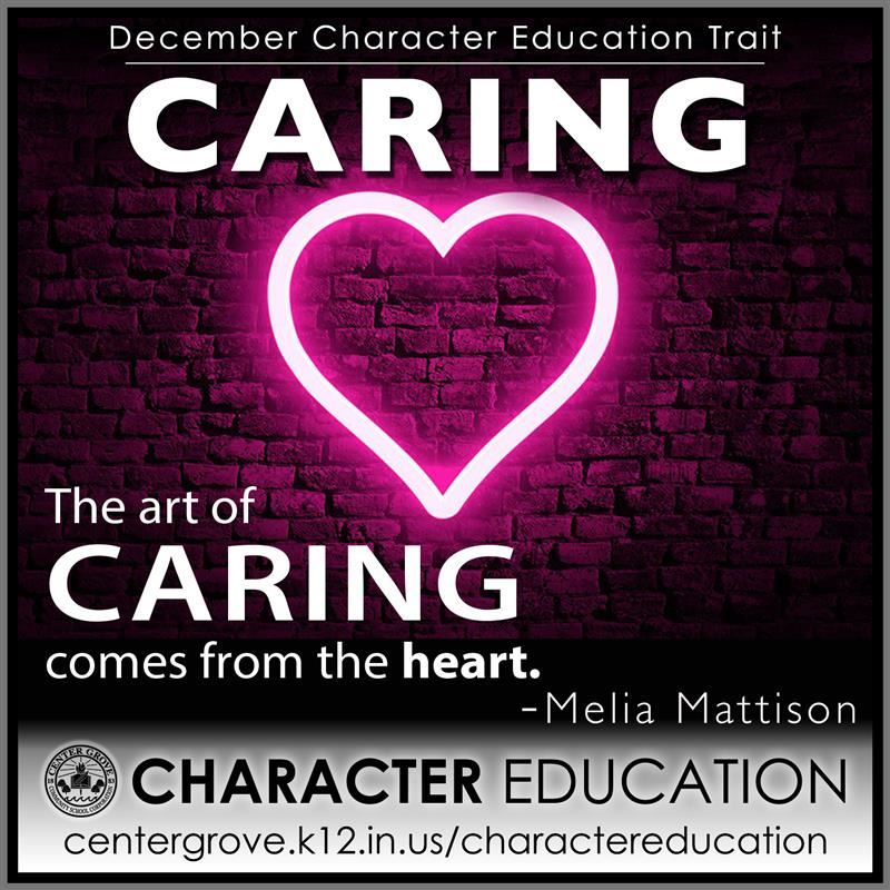 Center Grove Character Education-December