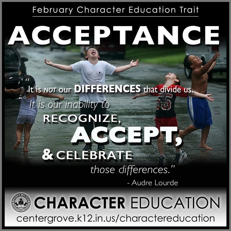 Center Grove Character Education