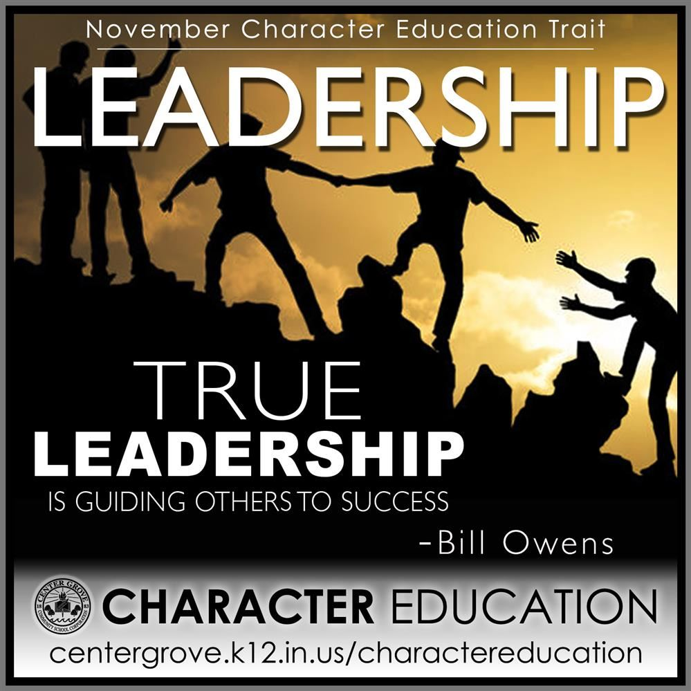 Center Grove Character Education-November