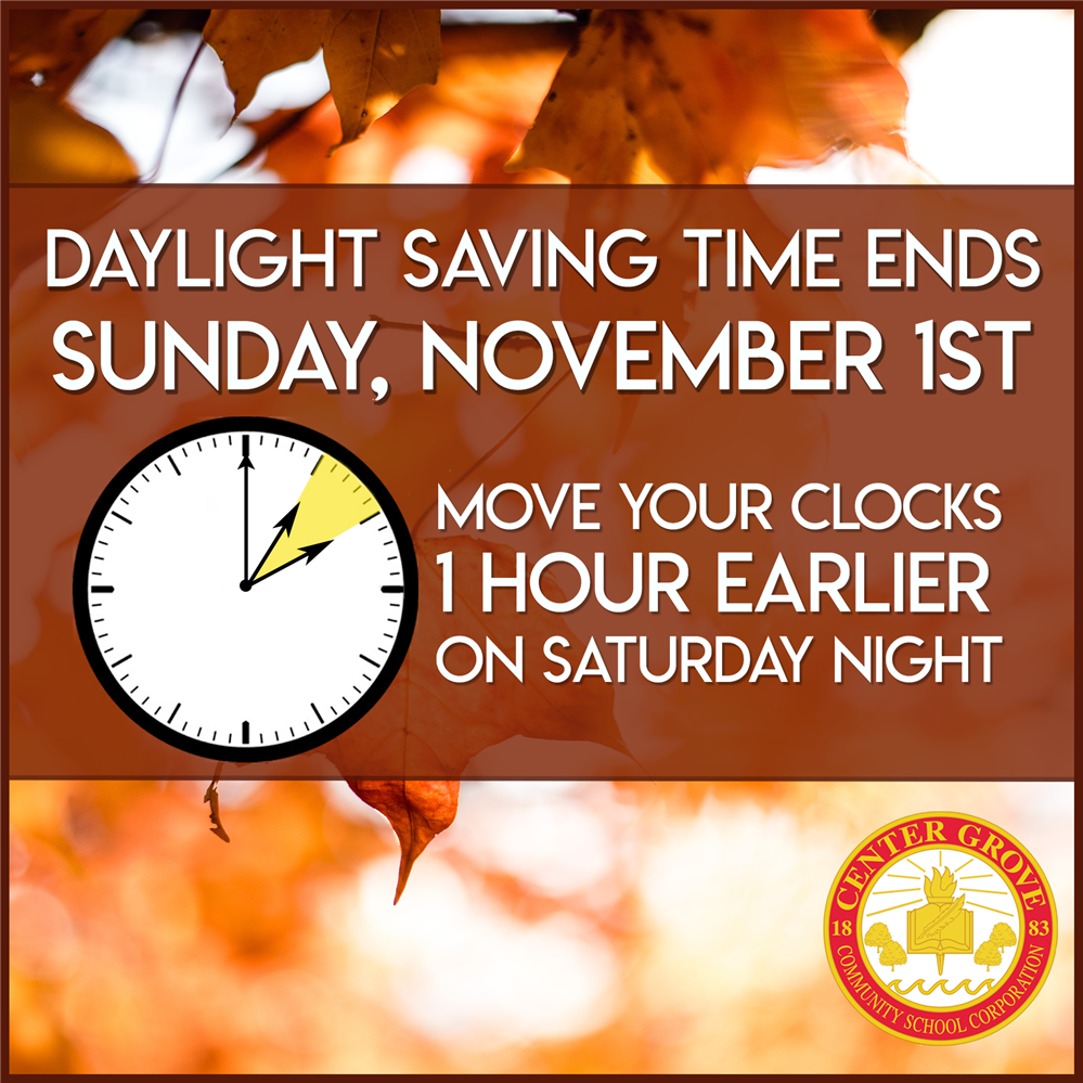 Remember to change your clocks!