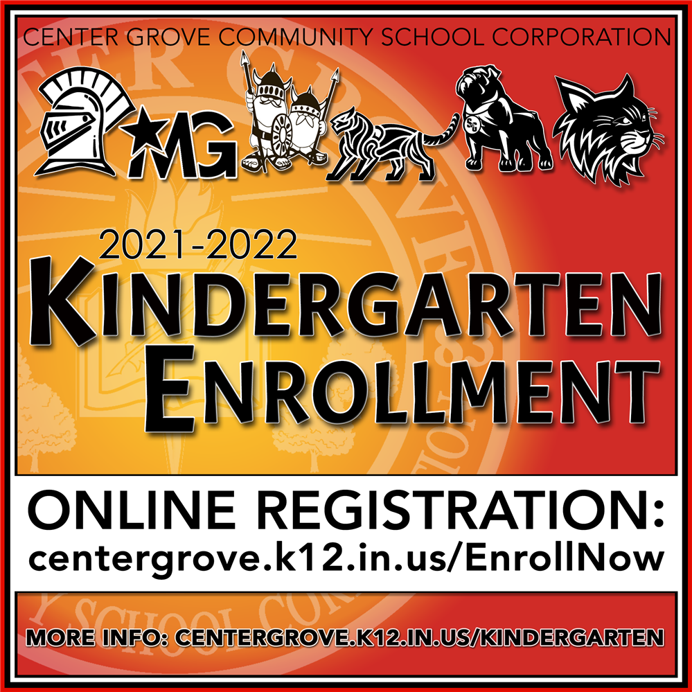 Kindergarten Enrollment Open!