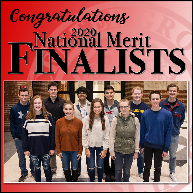 2020 National Merit Scholarship Finalists
