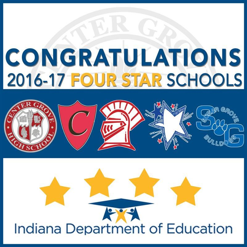 Center Grove schools earn Four-Star Award