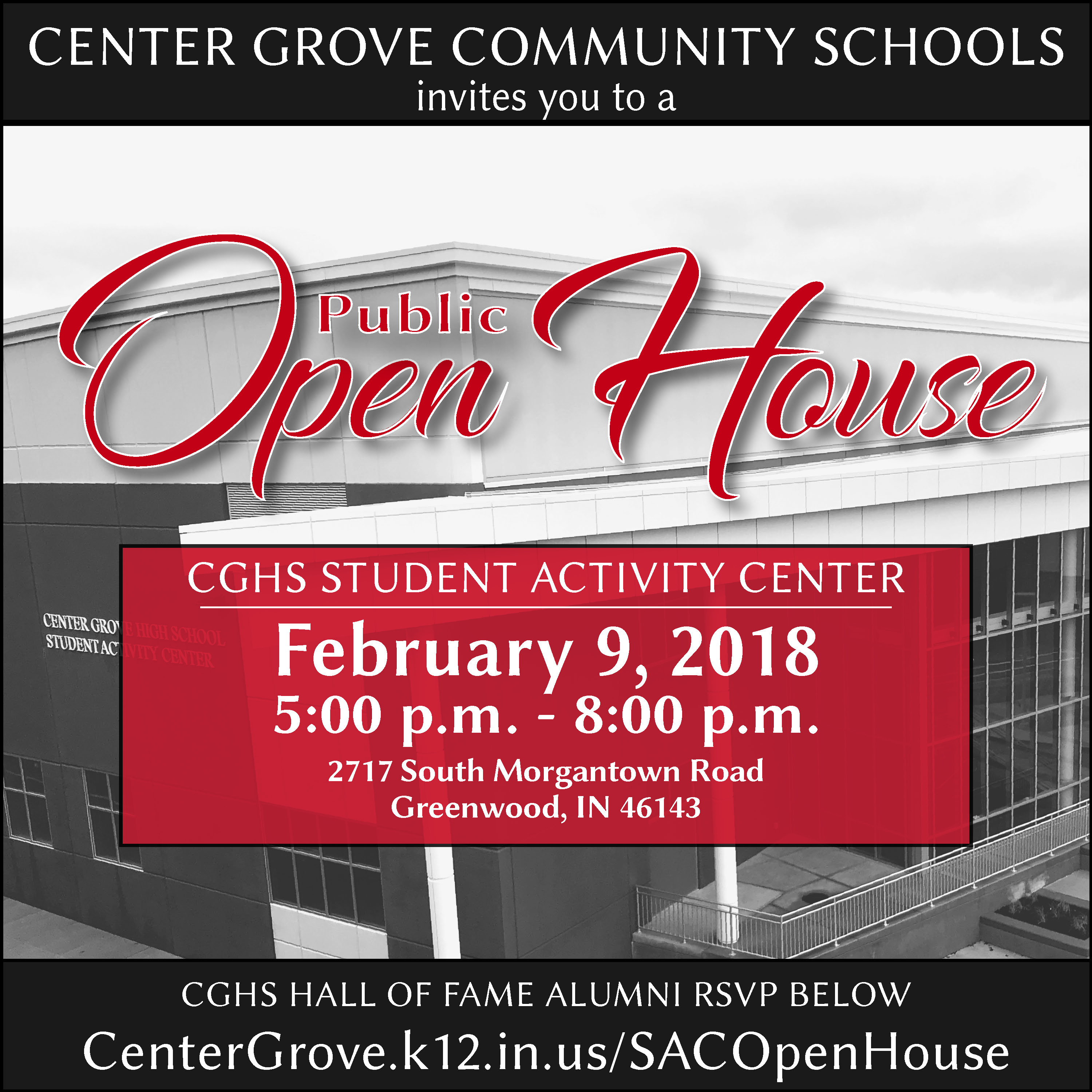 Student Activity Center Open House