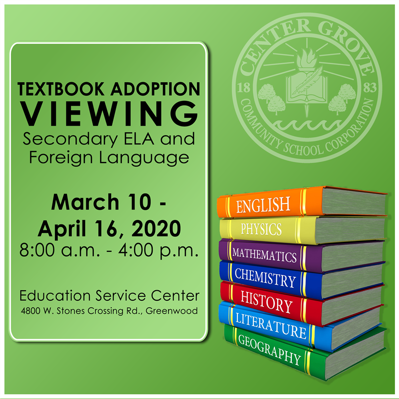 Textbook Adoption Viewing