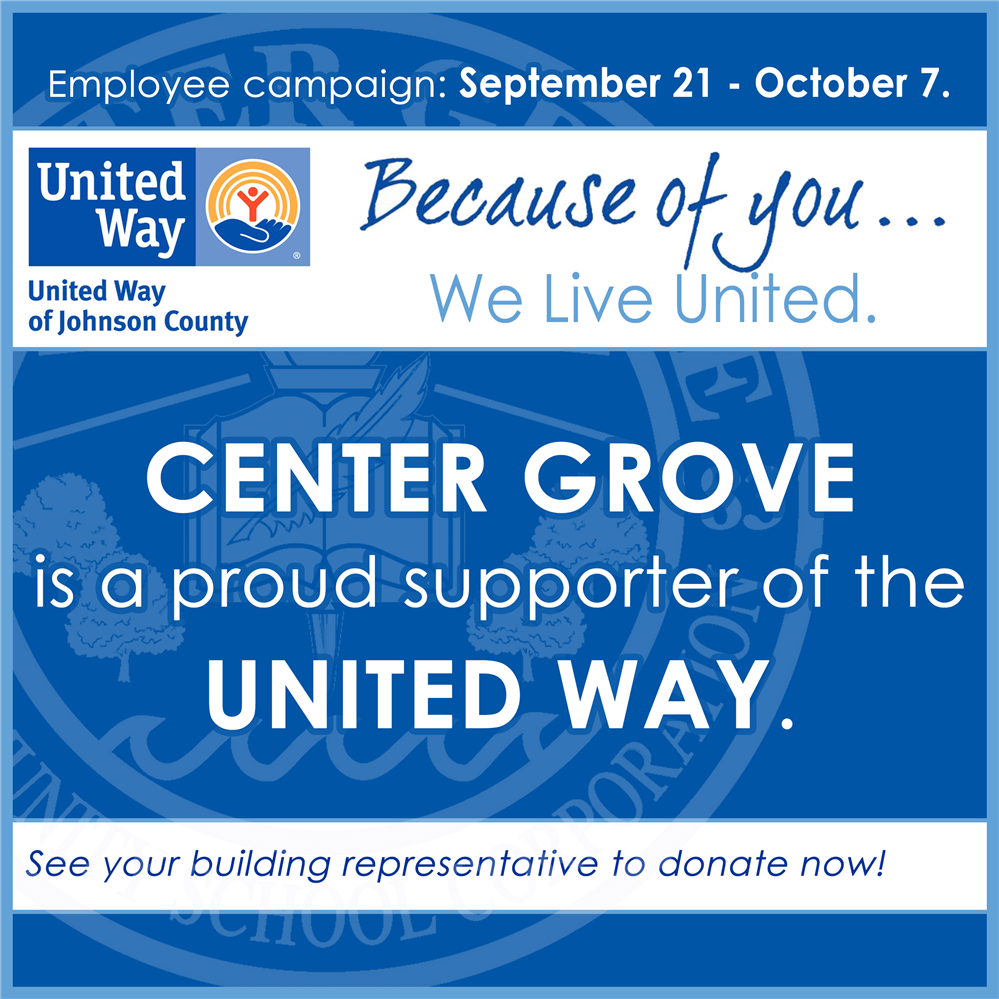 CGCSC is a proud supporter of the United Way of Johnson County
