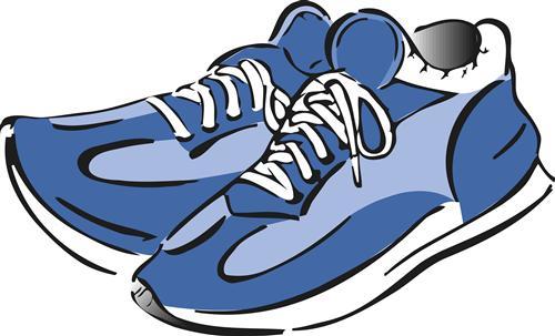 Cartoon Tennis Shoes Pictures