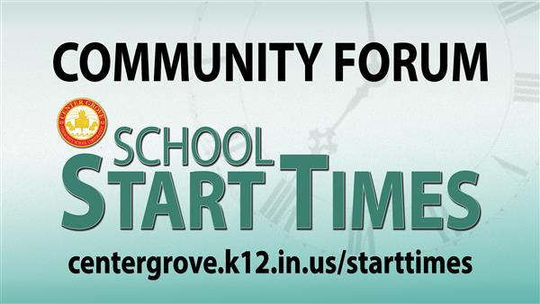 School Start Times Community Forum Presentation_102516
