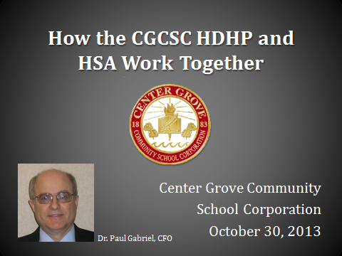 PPT: How the CG HDHP and HSA Work Together