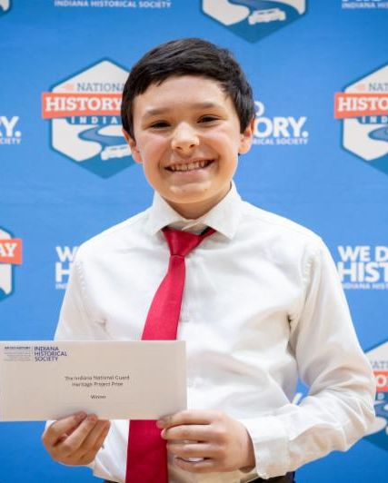 MGES student wins 2019 National History Day in Indiana contest