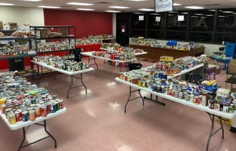CGHS Trick-or-Treat for Cans a success