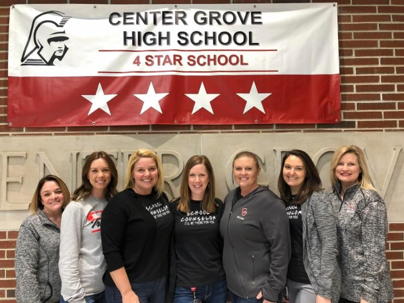 CGHS counselors awarded for excellence by IDOE