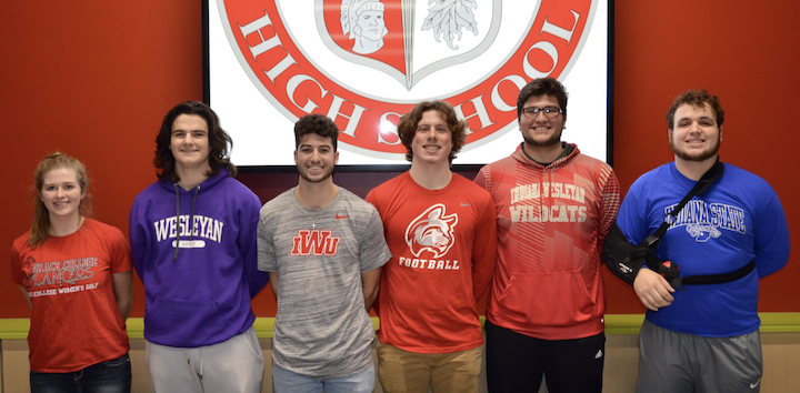 Center Grove student-athletes earn athletic scholarships
