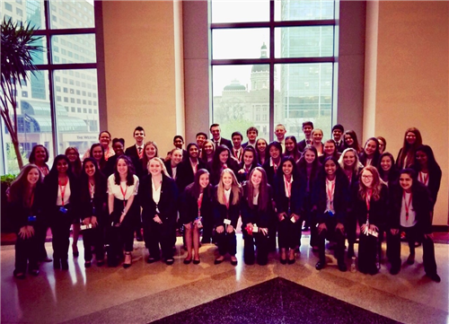 CGHS HOSA members advance to Internationals