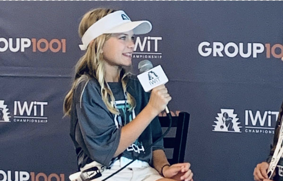 SGES student serves as IWiT reporter