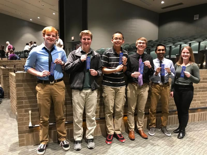 CGHS Academic teams advance to state
