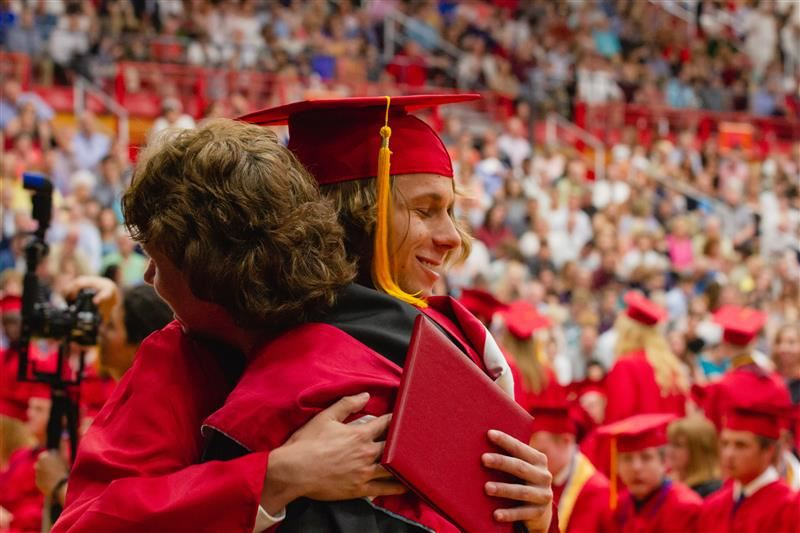 Center Grove High School graduates 580 Students in the Class of 2019