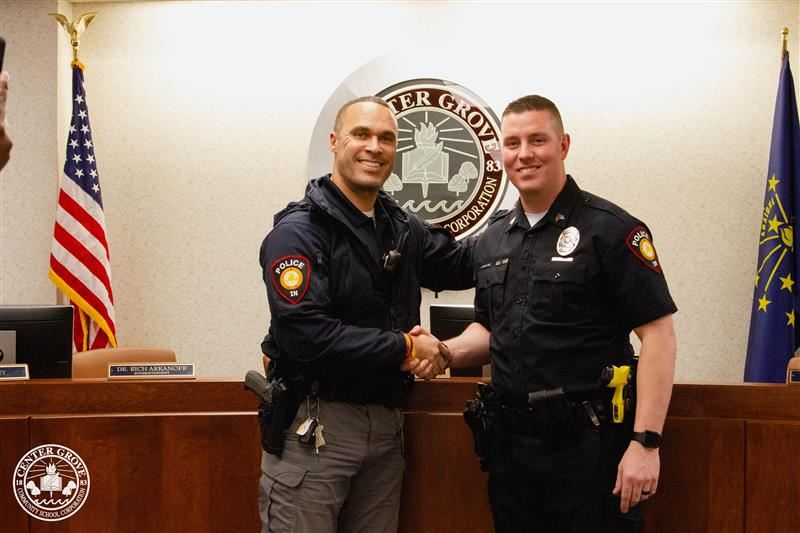 Beck promoted to CGPD Sergeant