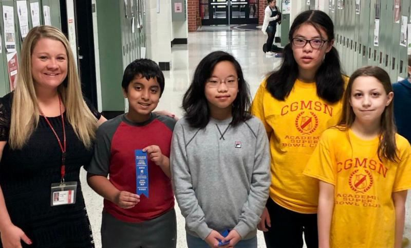 MSN Math Team wins Academic Super Bowl State Championship