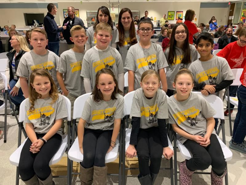 North Grove wins District Spelling Bee