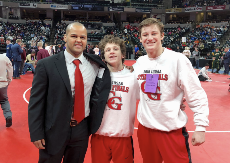 CGHS Junior wins Wrestling State Title