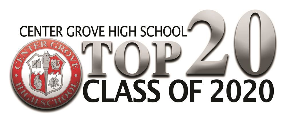 Center Grove High School Names Top 20 Students of the Class of 2020