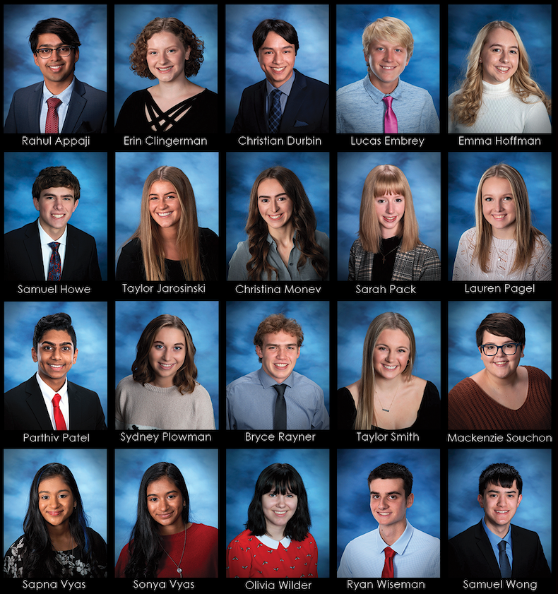 CGHS names Top 20 students in the Class of 2021