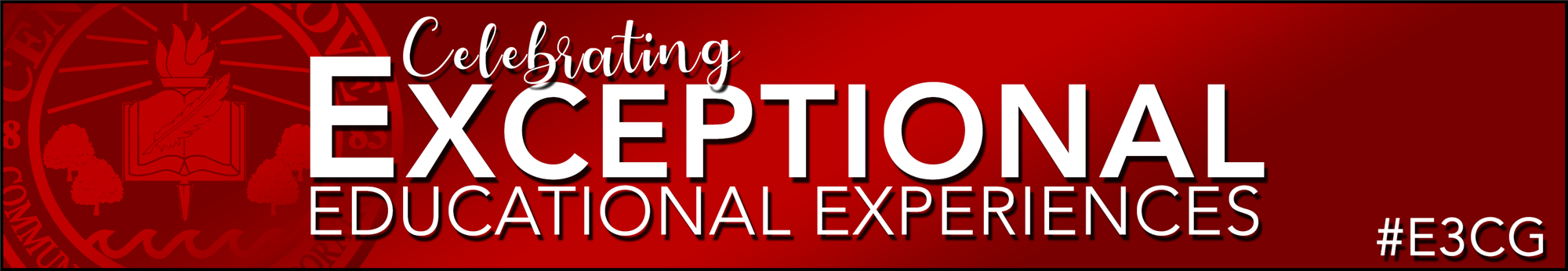 Celebrating Exceptional Educational Experiences