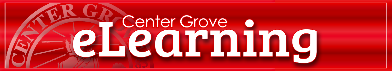 Center Grove eLearning