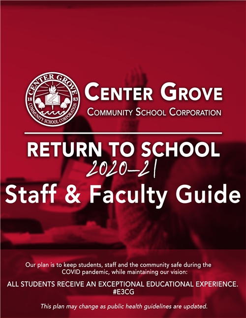 CGCSC Return to School Staff & Faculty Guide