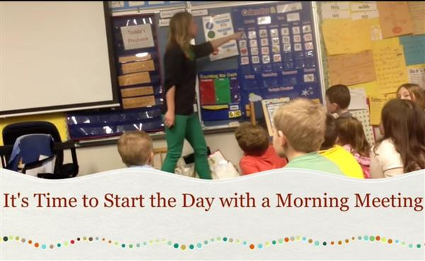 Kindergarten Readiness: Circle Time