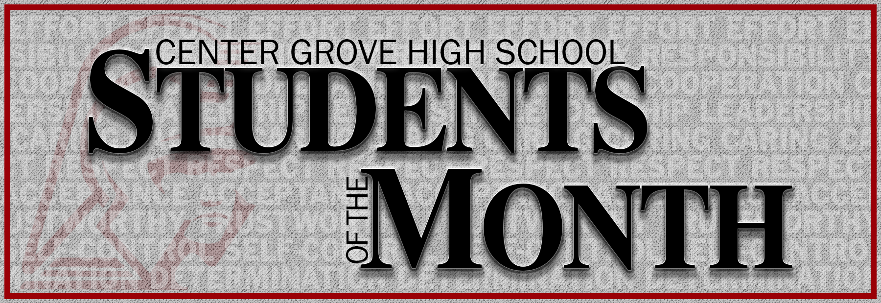 CGHS Students of the Month