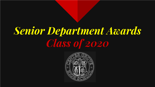 Senior Department Awards Class of 2020