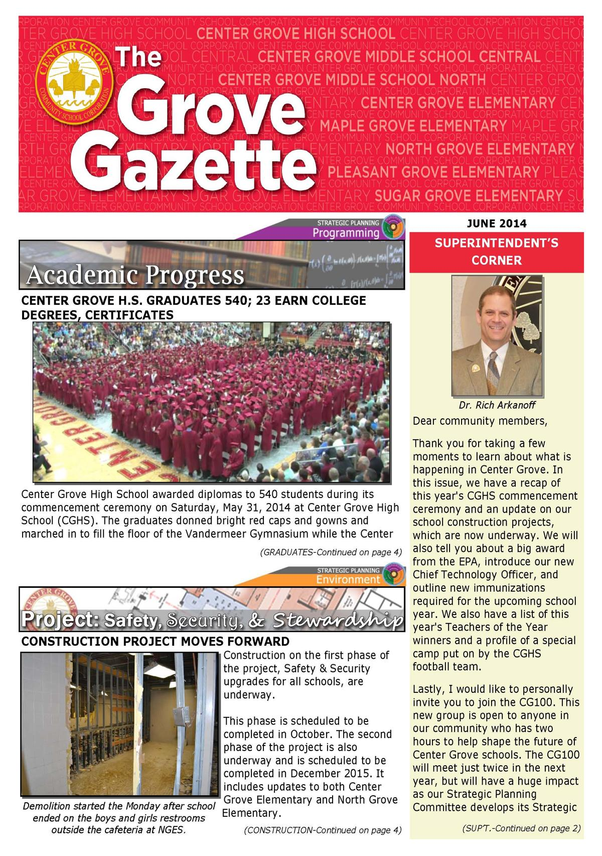 Grove Gazette-June 2014