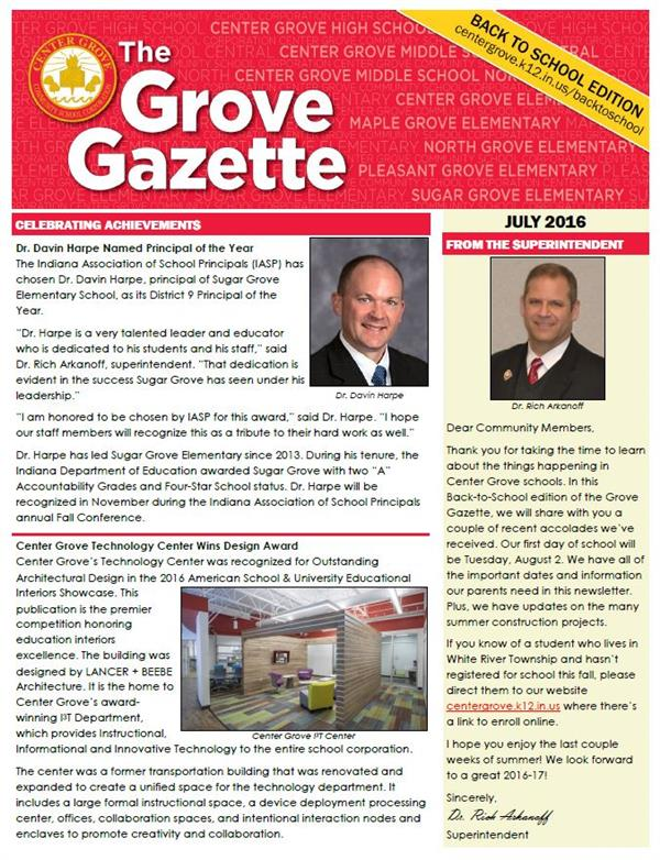 July Grove Gazette